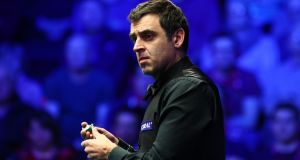 Ronnie O'Sullivan was irked by Mark Allen's movements as he took his shot. File photograph: Getty Images