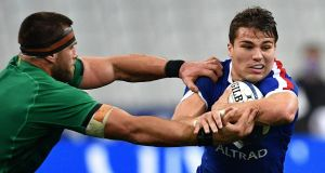 French scrumhalf Antoine Dupont is the 2020 Six Nations Player of the Championship. Photograph: Getty Images