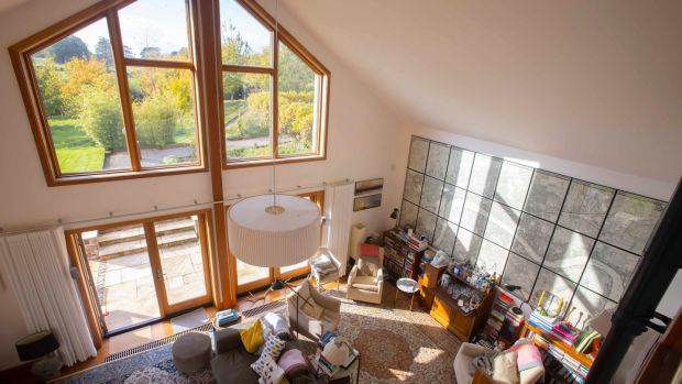 Livingroom. Photograph: Patrick Browne