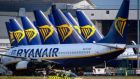 Ryanair closed 1.3 per cent stronger. Photograph: AFP via Getty