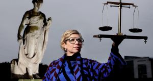 Sonya Lennon, founder of the campaign WorkEqual, is pictured ahead of Equal Pay Day on Monday. Photograph: Marc O'Sullivan