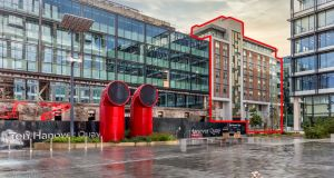 Town: Two-bedroom apartment in Dublin's docklands Hanover Court