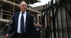Conservative Party peer Michael Howard: backed amendments that would remove treaty-breaking clauses from the Bill. Photograph: Carl Court/Getty Images