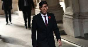 Chancellor of the exchequer Rishi Sunak: 'I want to reassure anyone that is worried about the coming winter months that we will continue to support those affected.' Photograph: Yui Mok/PA Wire