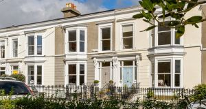 Number 4 Belgrave Square, Monkstown Co Dublin. It was proximity to the Dart station that attracted the owners of number 4 to the three-storey terraced house in 2019 after they returned from London.