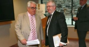 Chief Justice Frank Clarke (left) and Supreme Court judge Séamus Woulfe. File photograph: Laura Hutton/The Irish Times