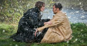 So close to parody... Emily Blunt and Jamie Dornan in Wild Mountain Thyme