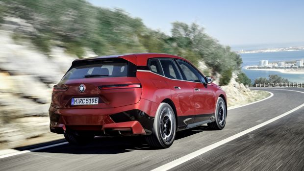 BMW says the range will be 'in excess of 600km', with a 0km/h-100km/h time of less than five seconds