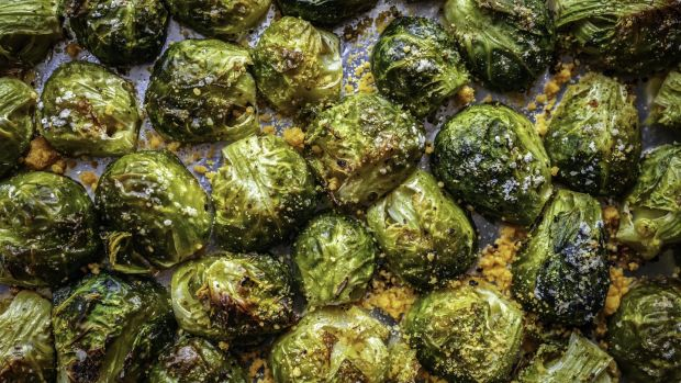 Deep fried brussel sprouts. Photograph: Getty Images.