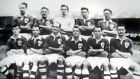 The Republic of ireland team that beat England 2-0 at Goodison Park in 1949.