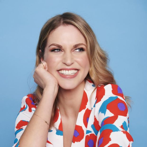 Amy Huberman: a bad review can 'kind of spoil the fun' when a show is on air