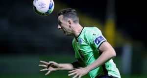 Finn Harps' Shane McEleney played against Waterford despite having five yellow cards to his name. Photo: Tommy Dickson/Inpho