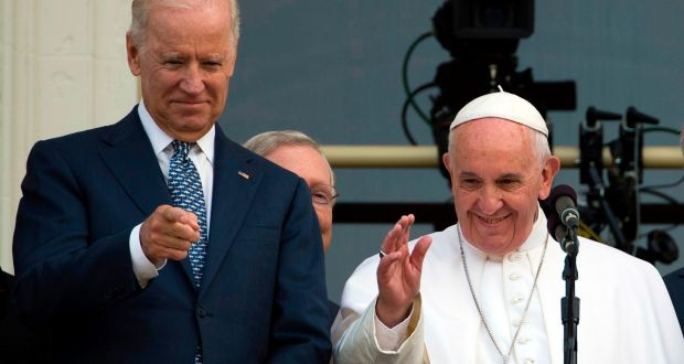 Joe Biden thanks Pope Francis for his 'blessings' in call with pontiff