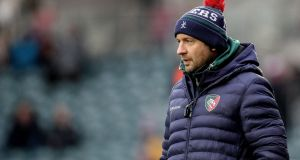 Geordan Murphy has left his role with Leicester Tigers, ending a 23-year association with the club. Photograph: Gary Carr/Inpho