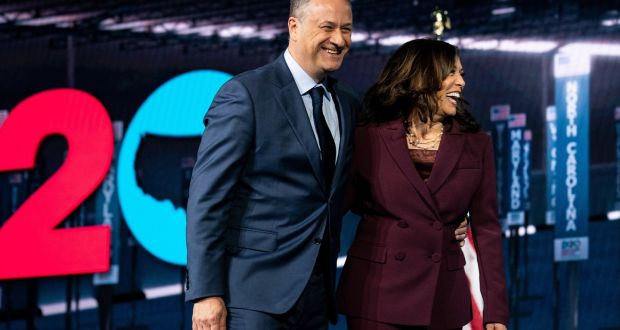 Kamala Harris And Beaming Husband Can Both Be Role Models For New Us