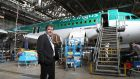 Conor McCarthy: he is the biggest shareholder in aircraft maintenance group Dublin Aerospace. Photograph: Nick Bradshaw