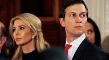 Ivanka Trump and her husband Jared Kushner.  They are the Faustian poster couple of the Trump presidency REUTERS/Jim Bourg/File Photo
