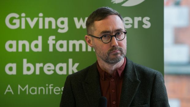 Sinn Féin's Eoin Ó Broin: Government policy should focus on increasing the direct delivery of social homes by local authorities. Photograph: Gareth Chaney/Collins
