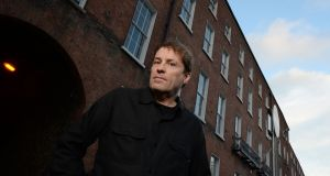 Ardal O'Hanlon outside 28 Upper Pembroke Street where his grandfather was in action on Bloody Sunday. Photograph: Alan Betson/The Irish Times