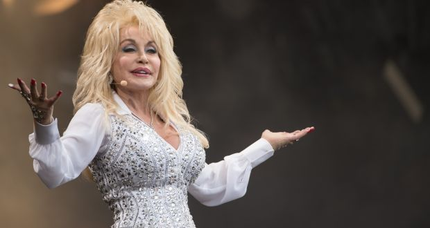 A one million dollar donation from Dolly Parton contributed towards Moderna's discovery. File photograph: Ian Gavan/Getty Images