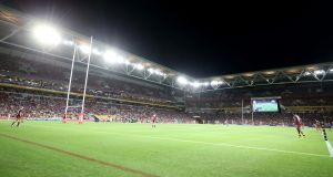 A general view during game three of the State of Origin series between the Queensland Maroons and the New South Wales Blues at Suncorp Stadium in Brisbane, Australia. Photo: Chris Hyde/Getty Images