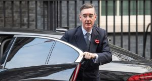 The average Brexit voter is far more interested in the state of public services and the NHS, unlike the Brexit pursued by Jacob Rees-Mogg, laden with lofty gestures to Britannia unchained. Photograph: Dominic Lipinski/PA Wire