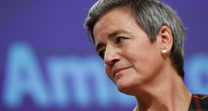 Margrethe Vestager, the EU's competition commissioner, has already acknowledged that she needs to find better remedies to ensure a level playing field. Photograph: EPA
