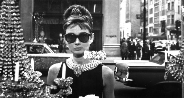 Audrey Hepburn in a promotional still from the 1961 film Breakfast at Tiffany's. Photograph courtesy Everett Collection/Getty Images