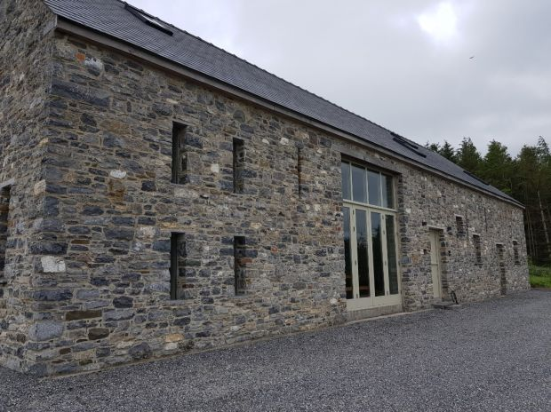 Up for raffle: the Keoghans' home in Freshford, Co Kilkenny