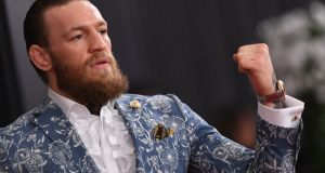 Conor McGregor is set to end  his latest retirement with a fight against Dustin Poirier in January. Photograph:  Valerie Macon/AFP via Getty Images