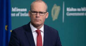 Simon Coveney: 'We just don't know yet whether the British prime minister has made the decision to instruct his chief negotiator to close this deal out.' Photograph: Julien Behal