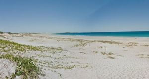 A man was fatally attacked by a shark at Cable Beach, Broome. Image: Google