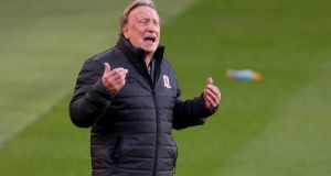 Middlesbrough manager Neil Warnock. Photograph:  Richard Sellers/PA