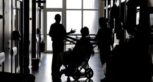 An average of seven patients a day are contracting Covid-19 while in the State's hospitals, according to new figures. File photograph: Alan Betson/The Irish Times