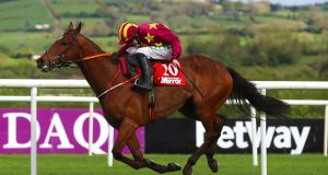 Minella Indo was victorious at Navan on Sunday. Photograph: Tommy Dickson/Inpho