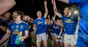 FINAL: Cavan players celebrate beating Donegal after the two sides met in the Ulster GAA Senior Football Championship Final at the Athletic Grounds in Co Armagh. Photograph: Morgan Treacy/Inpgo