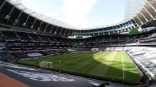 Tottenham have warned of big financial losses if fixtures continue to be played behind closed doors. Photograph: Catherine Ivill/Getty