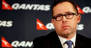 Qantas chief executive Alan Joyce: 'Aussies love to travel.'