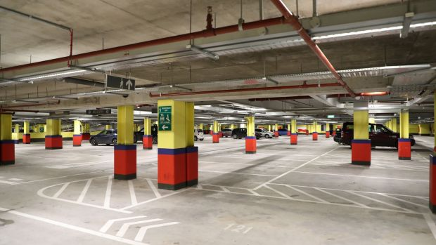 The Convention Centre car park operated by Euro Car Parks as viewed on Monday. Photograph: Nick Bradshaw/The Irish Times