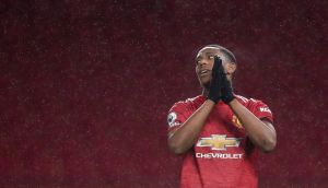 Anthony Martial: Manchester United striker scored 23 goals last season but has only managed two in nine outings so far this season. Photograph: Martin Rickett/EPA
