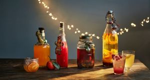 Drinkable homemade gifts. Photograph: Laura Edwards/The Guardian