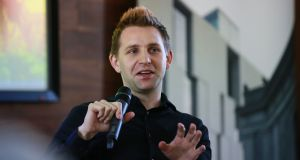 Privacy activist Max Schrems: 'We put these laws forward... but the reality is it's not enforced.' Photograph: Nick Bradshaw