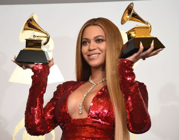 Beyoncé's nominations came mostly from her song Black Parade, which celebrated Black culture and activism. File photograph: Robyn Beck/AFP via Getty
