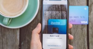 Revolut: UK-based payments provider has about one million customers in Ireland.