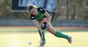 Harlequins player Cliodhna Sargent has expressed disappointment over Hockey Ireland's decision to sanction her side. Photograph:  Morgan Treacy/Inpho