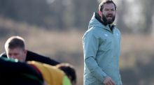 Head coach Andy Farrell during Ireland rugby squad training at the  IRFU High Performance Centre in   Blanchardstown, Dublin.   Photograph: Dan Sheridan/Inpho