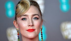 In at No. 10:  Saoirse Ronan. Photograph: Neil Hall/EPA