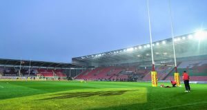 Leinster's Pro 14 game against the Scarlets on Sunday has been  cancelled after three Scarlets players tested positive for Covid-19. Photograph: Ryan Hiscott/Inpho
