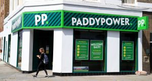 Paddy Power-owner Flutter Entertainment stood out as a bright feature, gaining 3.6%  to €156