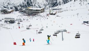 Ischgl is a lively ski village with an extensive ski area in the Paznaun valley aound 90 minutes' drive from Innsbruck
